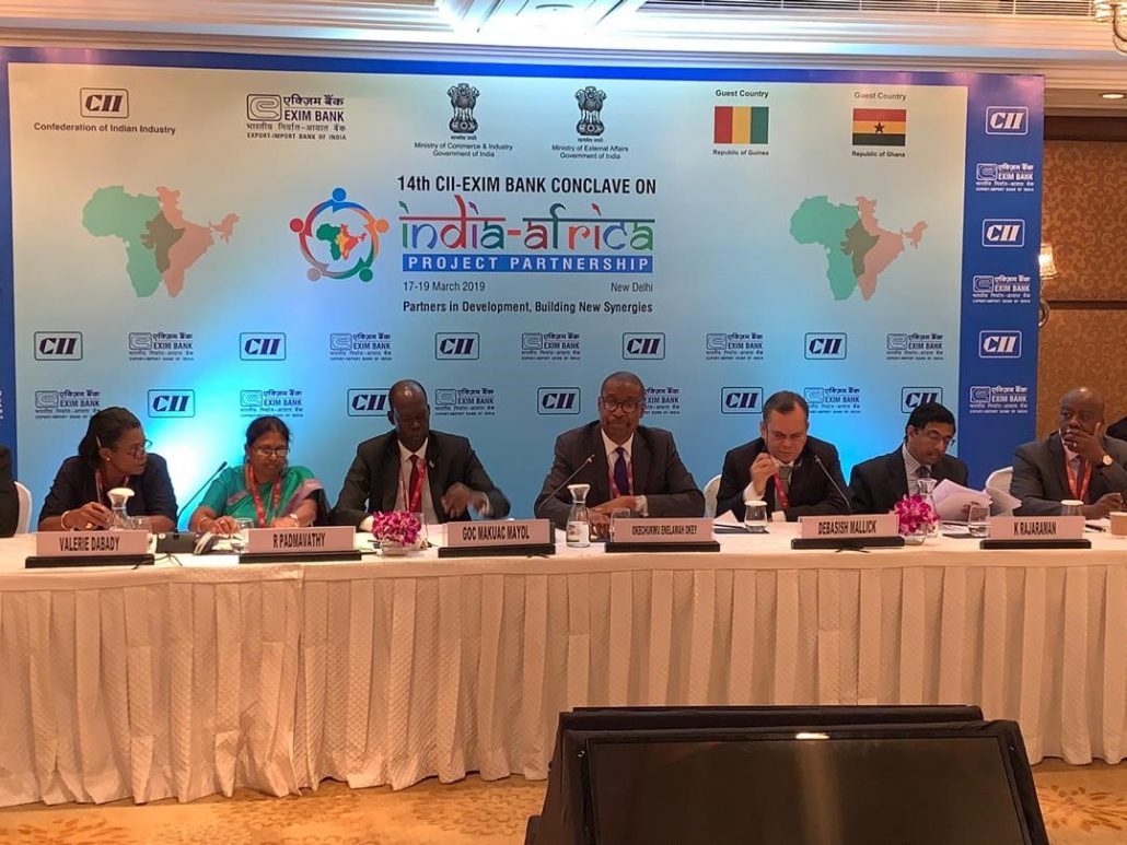 CII Exim Bank Conclave on India Africa
