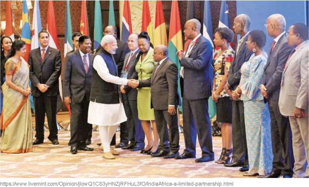 India Africa partnership